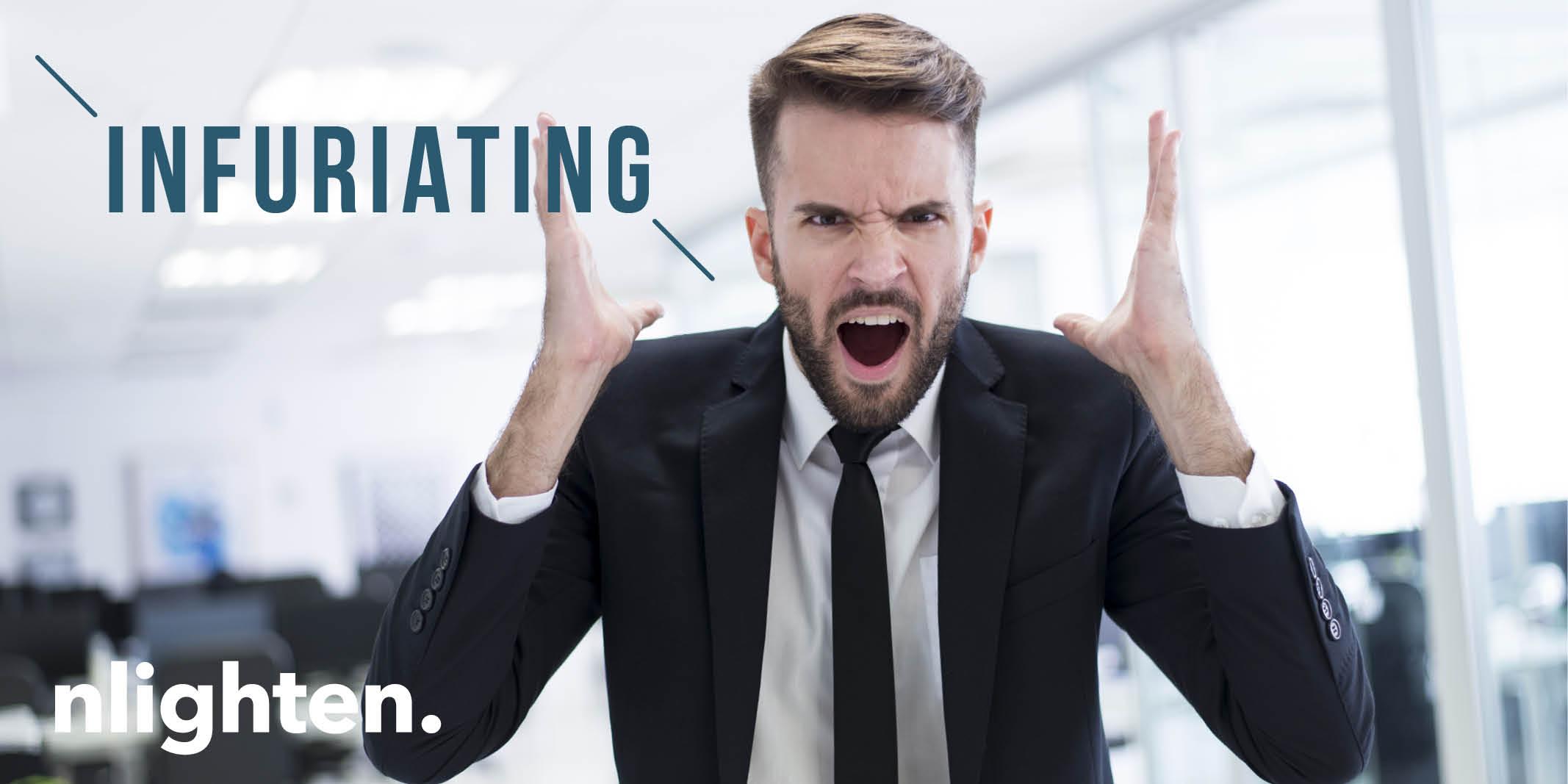"nlighten Blog_10 Most Irritating Customer Experiences! March 2017"""
