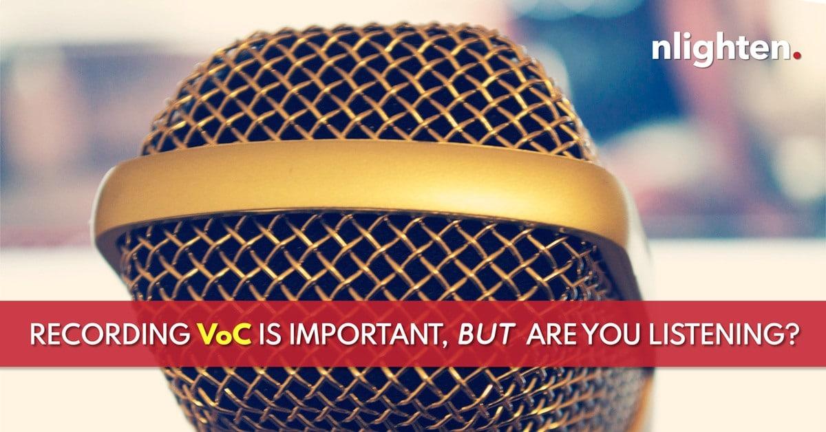 Voice of Customer_VoC_nlighten article_June_2019