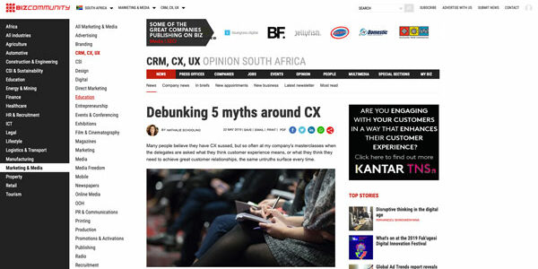 Debunking 5 myths around CX