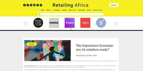 The Experience Economy: Are SA retailers ready?
